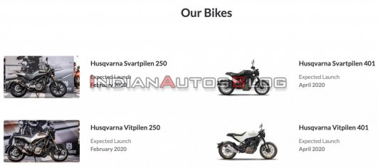 Bajaj Auto expecting to launch Husqvarna Vitpilen 401 in India this month - IAB Report