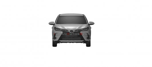2021 Toyota Yaris facelift leaked via patent images