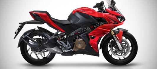 Bajaj Pulsar RS400 imagined - IAB Rendering