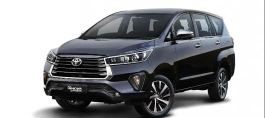 2021 Toyota Innova Crysta with visual upgrades & new features launched
