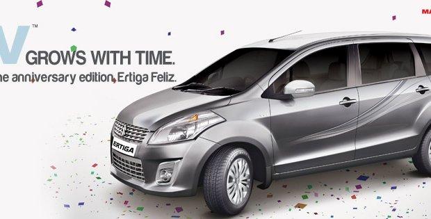Limited Edition Suzuki Ertiga Expected In Indonesia In August