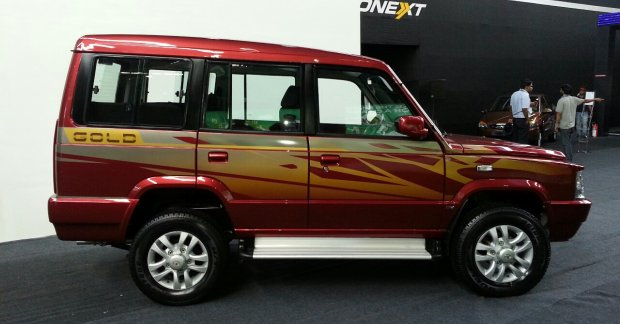Updated Tata Sumo Gold introduced at 5.93 lakhs