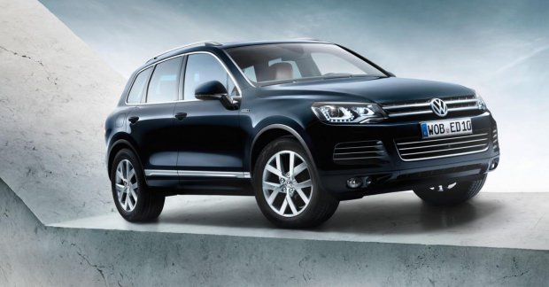 VW Touareg Edition X to be launched in Russia