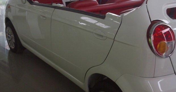 Chevrolet Spark Convertible Is A Modified 4 Door Hatchback