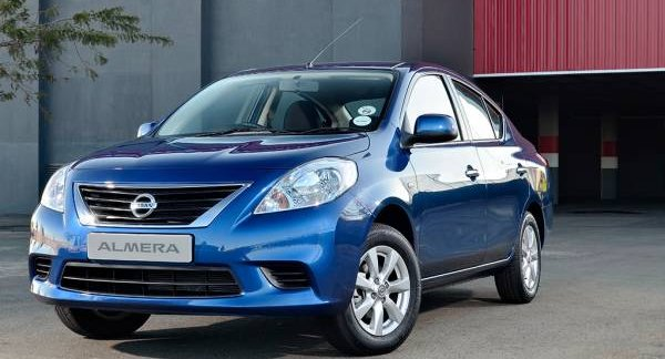 Nissan Almera Sunny Launched In South Africa At R165 000