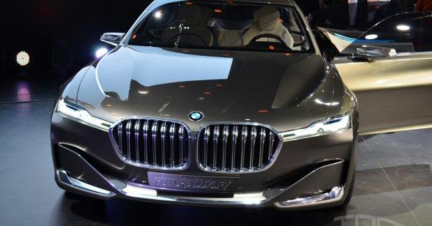 Bmw Vision Future Luxury Concept Beijing Live