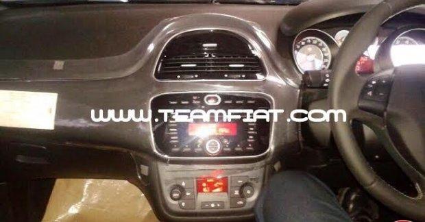 Fiat Punto Evo Spied Interior