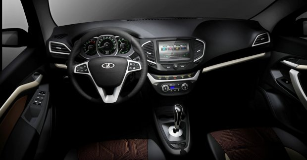 Gen Honda Com >> Lada Vesta sedan's interior revealed ahead of Moscow debut