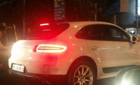 Porsche Macan S diesel spied in India ahead of the launch