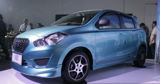Datsun Go Panca launched in Indonesia with a bodykit