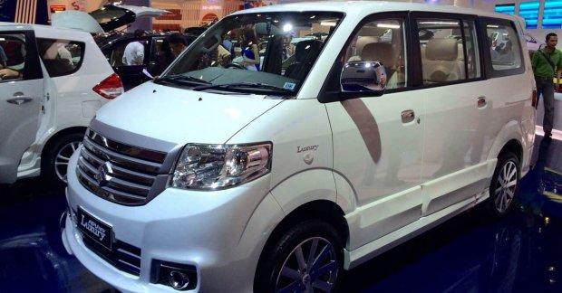 Suzuki APV Luxury MPV Launched