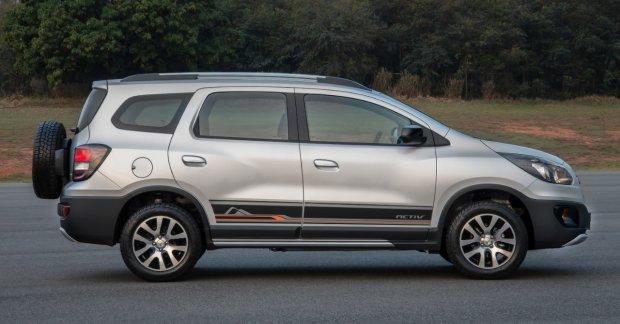Chevrolet Spin Activ Crossover For Brazil Images