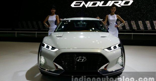 Hyundai Enduro Suv Concept 2015 Seoul Live