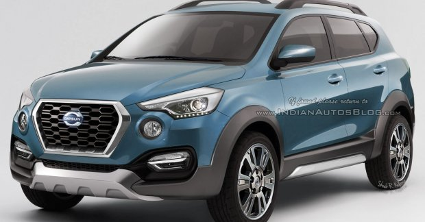 Production-spec Datsun GO-Cross - IAB Rendering