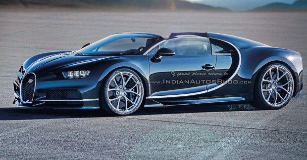 Bugatti Veyron Super Sport >> Bugatti Chiron Grand Sport (roadster) – IAB Rendering