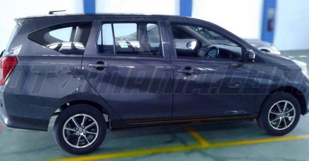 Mahindra Side By Side >> New Toyota Calya mini MPV leaked [3 spyshots]