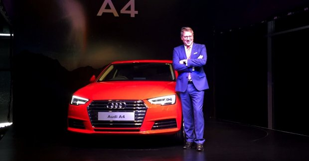 2016 Audi A4 30 Tfsi Launched At Inr 38 1 Lakhs