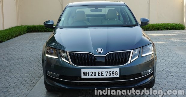 2017 skoda octavia facelift to launch in india on 13 july. Black Bedroom Furniture Sets. Home Design Ideas