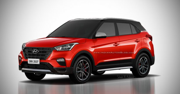 Hyundai Creta Sport Rendered Ahead Of Launch This Year