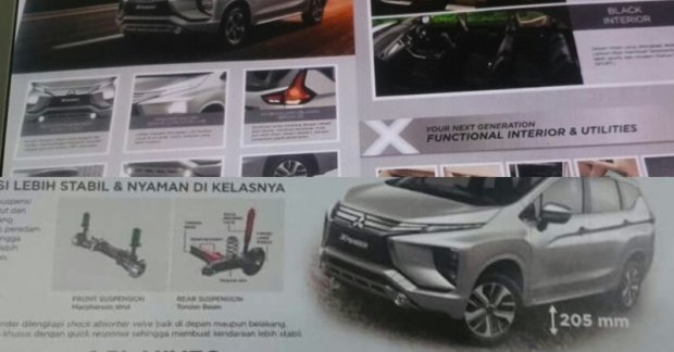 Mitsubishi Xpander Brochure Leaked Ahead Of Giias 2017 Debut