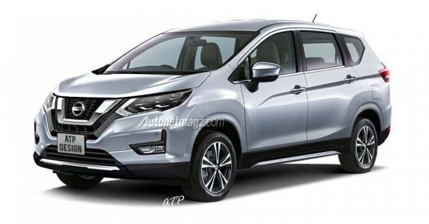 Mitsubishi Xpander based all new Nissan Grand Livina to