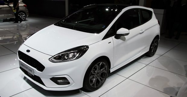 Ford Fiesta St Line Showcased At Iaa 2017 Live