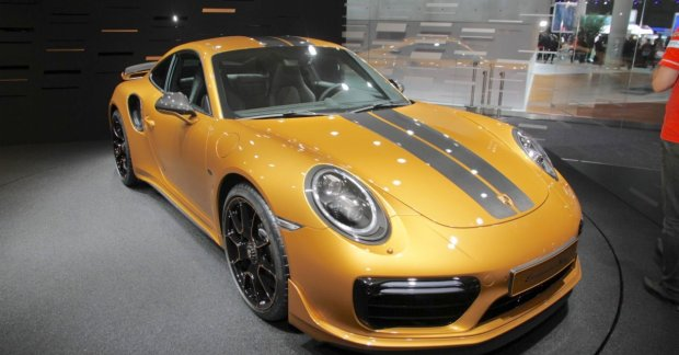 2018 Porsche 911 Turbo S Exclusive Series At The Iaa 2017