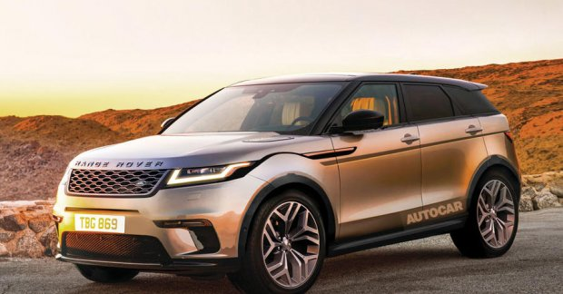 second gen range rover evoque to debut in october 2018. Black Bedroom Furniture Sets. Home Design Ideas