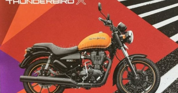 Royal Enfield Thunderbird X Brochure Leaked Reveals More