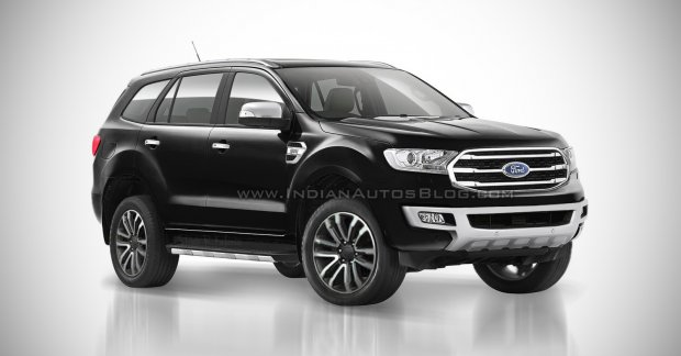 Facelifted Ford Endeavour To Be Launched In India In Early