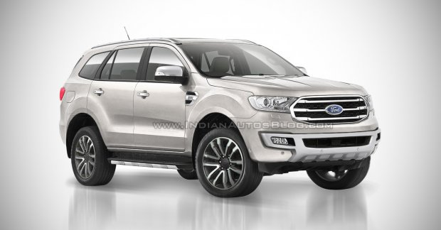 2018 Ford Endeavour (2018 Ford Everest) - IAB Rendering