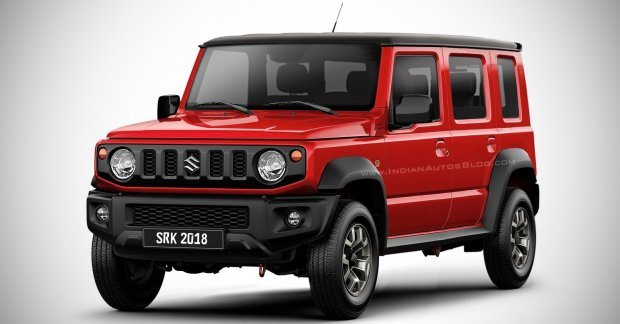 2019 Suzuki Jimny 5-door long wheelbase - IAB Rendering
