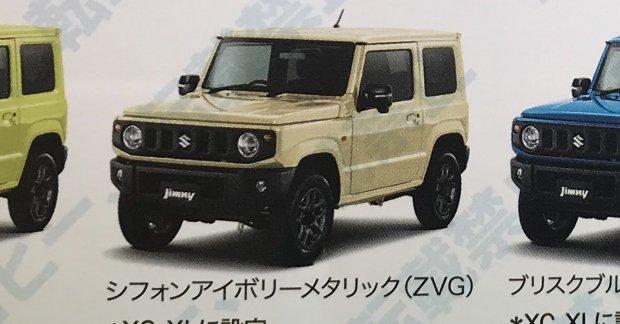 new details on 2019 suzuki jimny  u0026 suzuki jimny sierra emerge