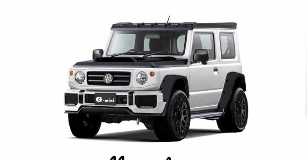 This modified Suzuki Jimny is a Mercedes G-wagen's 'mini-me'