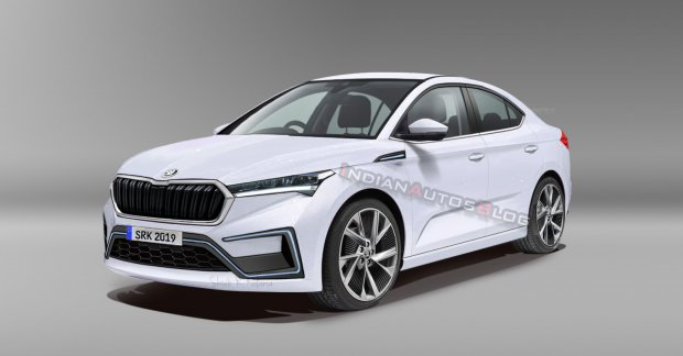 Production Skoda Vision iV - IAB Rendering