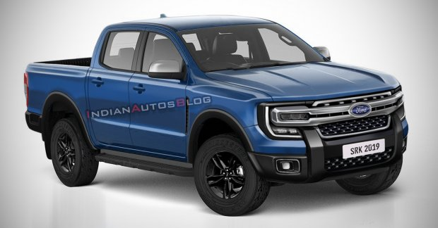 Next-gen 2022 Ford Ranger imagined - IAB Rendering