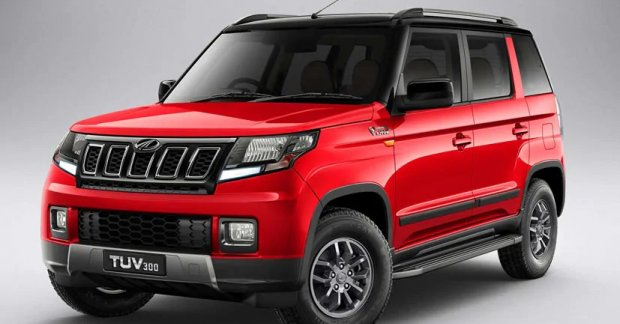 2019 Mahindra TUV300 (facelift) Launched, Priced From INR