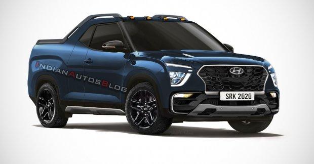 2021 Hyundai Creta Pickup (production Hyundai Creta STC ...