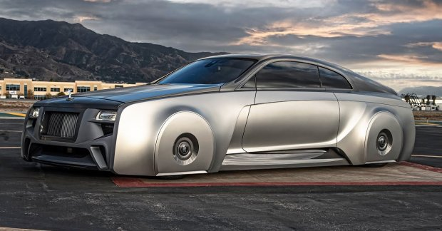 Check Out Justin Bieber's New One-Off Rolls-Royce By West Coast Customs