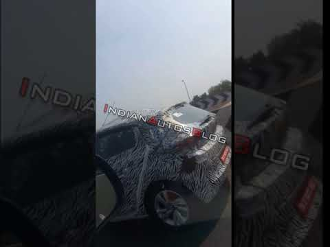 Tata 45X hatchback spied on test