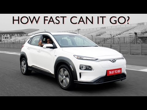 Hyundai Kona EV | First Drive Review | India's First-Ever Electric SUV Tested On A Race Track