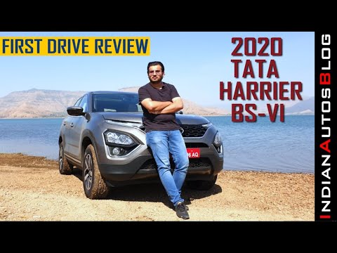 2020 Tata Harrier XZ+ and XZA+ Driven | Test Drive Review | Hindi