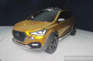 Upcoming Cars in India Datsun Go Cross