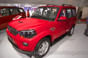 Upcoming Cars in India Mahindra Scorpio 2017 Facelift