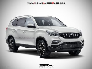 Upcoming Cars in India Mahindra XUV700 (2017 Ssangyong Rexton)