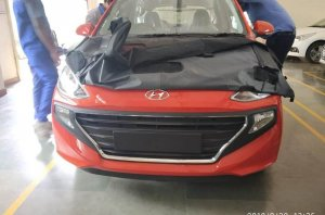 2019 Hyundai Santro Front Leaked