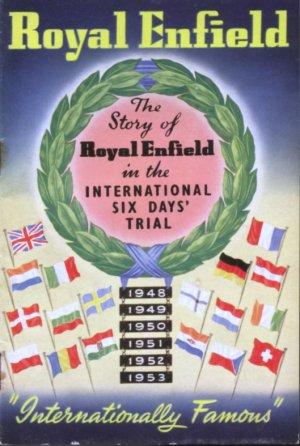 Royal Enfield Bullet Trials Works Replica