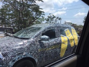 Renault Triber Renault Rbc Spy Photo