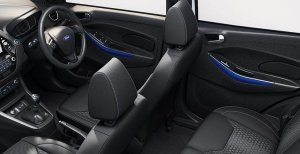 Ford Aspire Blue Interior