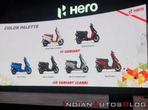 Hero Maestro Edge 125 Launch 2